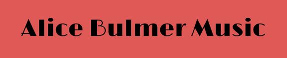 Alice Bulmer Music