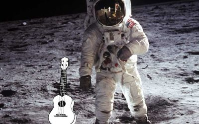 Space music: moon songs for ukulele