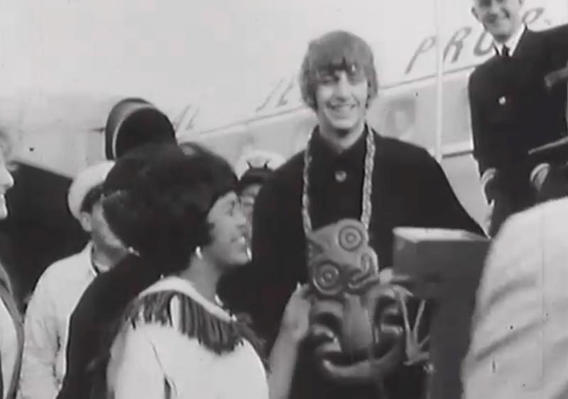 Ringo arrives in New Zealand