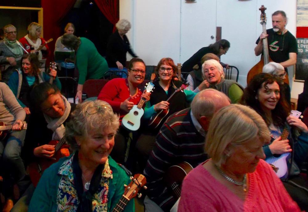 Waikato Uke Jam Alice Bulmer ukulele teacher