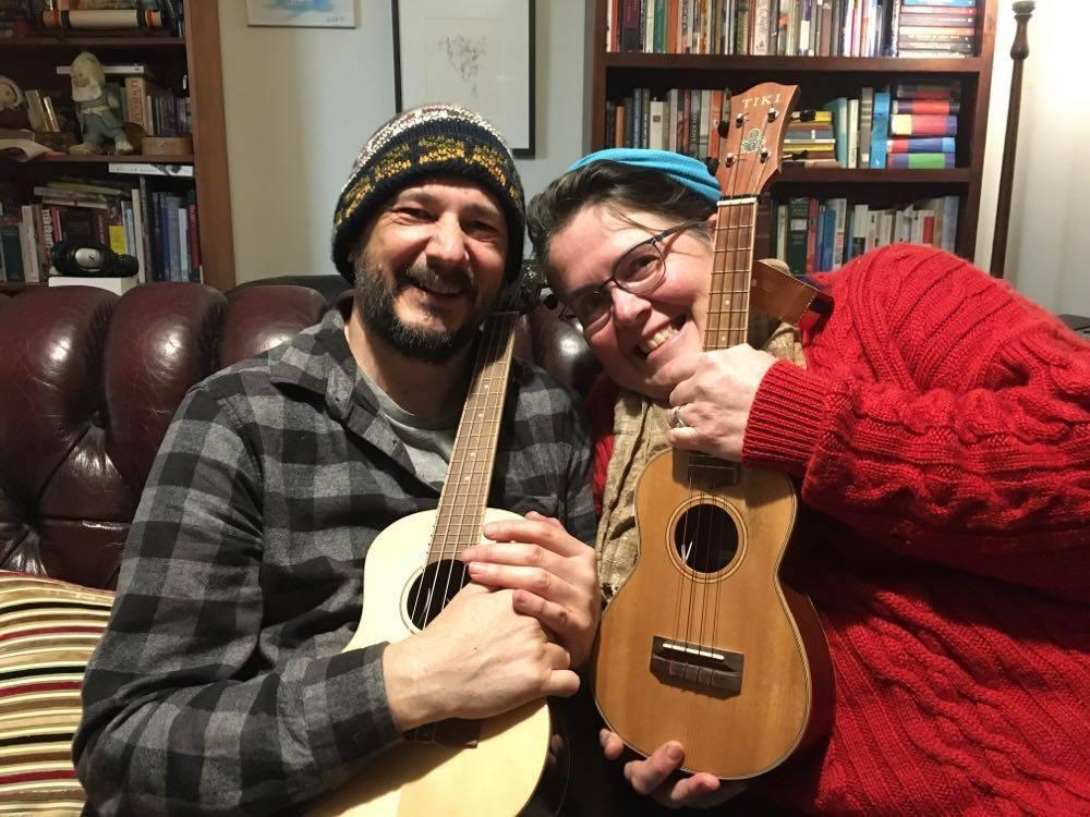 Amanda Collins with Dave Munro